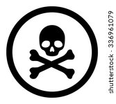 death vector icon. style is... | Shutterstock .eps vector #336961079