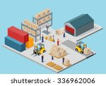 icon 3d isometric process of... | Shutterstock .eps vector #336962006