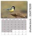 Garden Birds Calendar  May 2016 ...