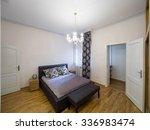 apartment bedroom interior | Shutterstock . vector #336983474