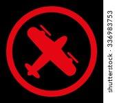 screw aeroplane vector icon.... | Shutterstock .eps vector #336983753