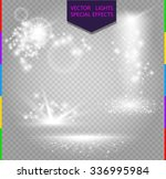 glow special effect light ... | Shutterstock .eps vector #336995984