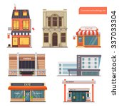 vector collection public town... | Shutterstock .eps vector #337033304