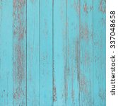 Blue Shabby Wooden Planks...