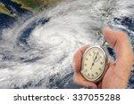 Hurricane Patricia And Hand...