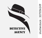 detective agency. elements for...   Shutterstock .eps vector #337056149