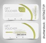 gift card voucher. business... | Shutterstock .eps vector #337062719
