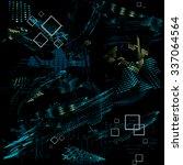 seamless vector texture grunge... | Shutterstock .eps vector #337064564