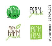 Farm Fresh Hand Drawn Logos....