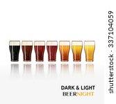 pints of cold beer vector... | Shutterstock .eps vector #337104059