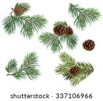 vector collection of christmas... | Shutterstock .eps vector #337106966