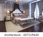 Luxury Interior Of Art Deco...
