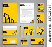 corporate identity branding... | Shutterstock .eps vector #337125254