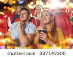cinema  entertainment and... | Shutterstock . vector #337142300