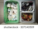 household waste sorting and... | Shutterstock . vector #337143509