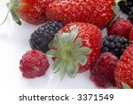 Summer Fruit Salad Ingredients...