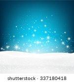 winter luminous background....