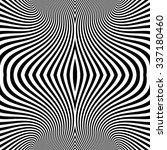 pattern with optical illusion.... | Shutterstock .eps vector #337180460