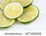Macro Of Several Green Lime...