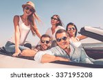 spending great time together.... | Shutterstock . vector #337195208