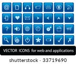 web icons | Shutterstock .eps vector #33719690
