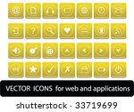 web icons | Shutterstock .eps vector #33719699
