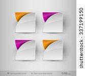 business infographics template... | Shutterstock .eps vector #337199150