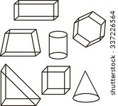 geometric shapes triangle...   Shutterstock .eps vector #337226564