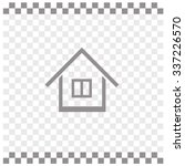 home vector icon. | Shutterstock .eps vector #337226570