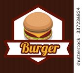 fast food concept with...   Shutterstock .eps vector #337236824