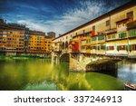Ponte Vecchio Seen From Arno...