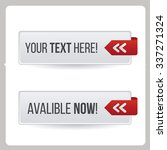button online illustration... | Shutterstock .eps vector #337271324