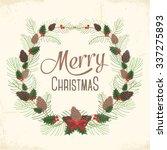 merry christmas   Shutterstock .eps vector #337275893