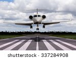 close up of a private jet...   Shutterstock . vector #337284908