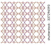 abstract diamond shape pattern... | Shutterstock .eps vector #337296593