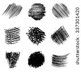 artistic vector set of pencil... | Shutterstock .eps vector #337301420
