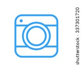 camera outline icon  modern...