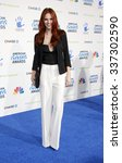 Small photo of LOS ANGELES, CALIFORNIA - December 7, 2012. Alyssa Campanella at the 2nd Annual American Giving Awards held at the Pasadena Civic Auditorium in Los Angeles.
