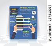 smart phone concept flat style... | Shutterstock .eps vector #337310099