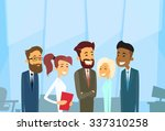 business people group diverse... | Shutterstock .eps vector #337310258