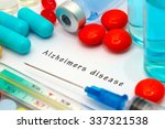 alzheimers disease   diagnosis... | Shutterstock . vector #337321538