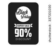 black friday vector template   Shutterstock .eps vector #337331030