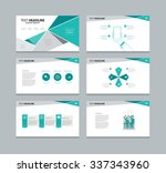 abstract vector business ... | Shutterstock .eps vector #337343960