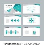 abstract vector business ... | Shutterstock .eps vector #337343960