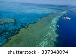 Great Barrier Reef Aerial View...