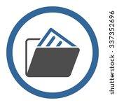 document folder vector icon....   Shutterstock .eps vector #337352696