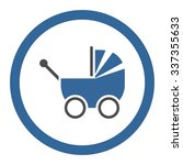 baby carriage vector icon....   Shutterstock .eps vector #337355633