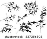 illustration with bamboo...   Shutterstock .eps vector #337356503