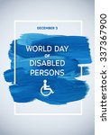 poster international day of... | Shutterstock .eps vector #337367900