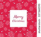 seasonal winter seamless... | Shutterstock .eps vector #337368590